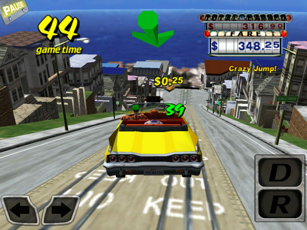 Crazy taxi cab game related keywords amp suggestions crazy taxi cab